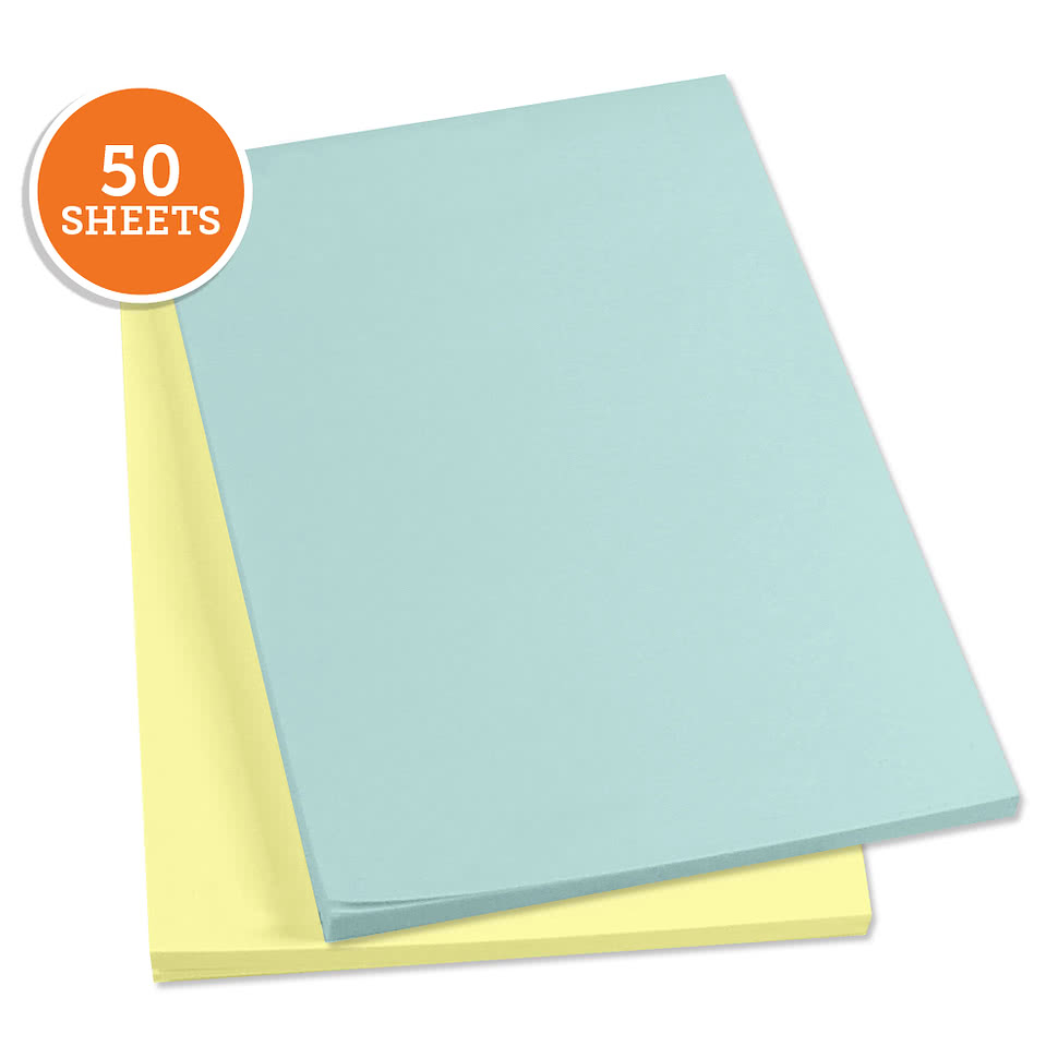 "3M Post-It Notes- 4"" x 6"" - 50 sheets/pad"