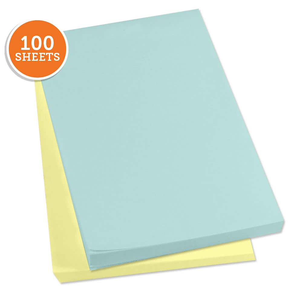 "3M Post-It Notes- 4"" x 6"" - 100 sheets/pad"