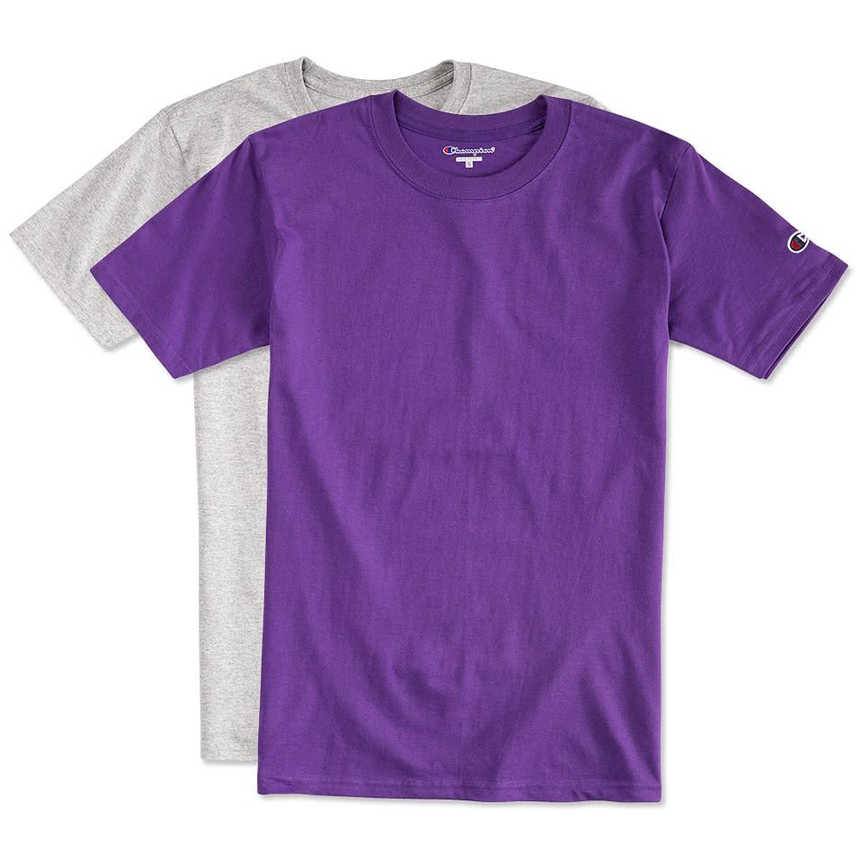 Design t shirt - Champion Tagless T Shirt
