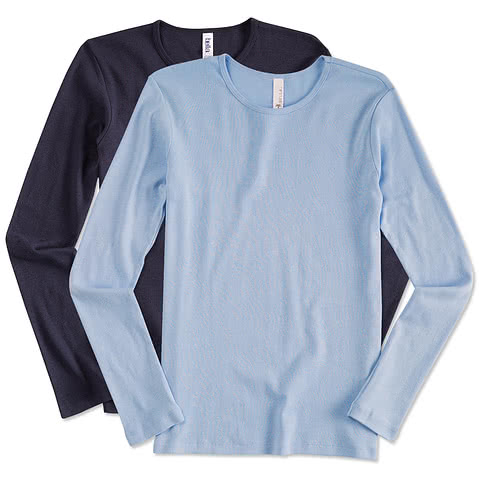 Bella Juniors Long Sleeve Crew