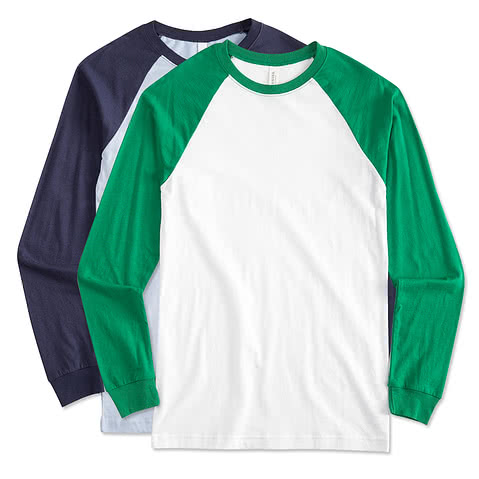 Canvas Long Sleeve Raglan