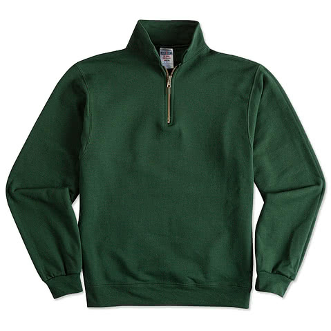 Jerzees Super Sweats® 50/50 1/4 Zip Sweatshirt