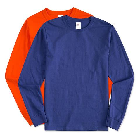 Hanes Long Sleeve Tagless T-shirt