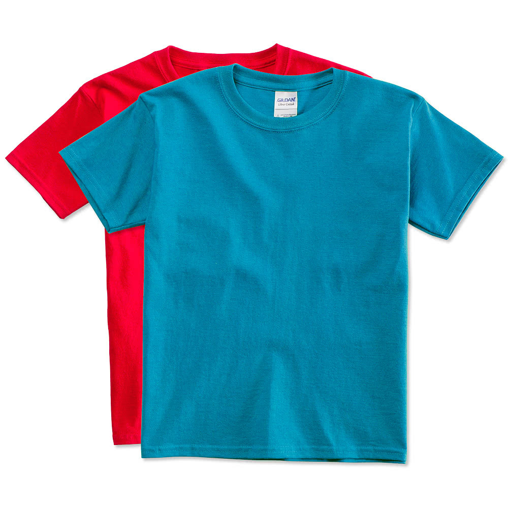 Gildan Youth Ultra Cotton T Shirts Design Custom Kids T