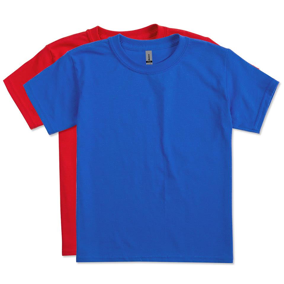 Gildan Youth 50 50 T Shirt Design Custom Childrens 50 50