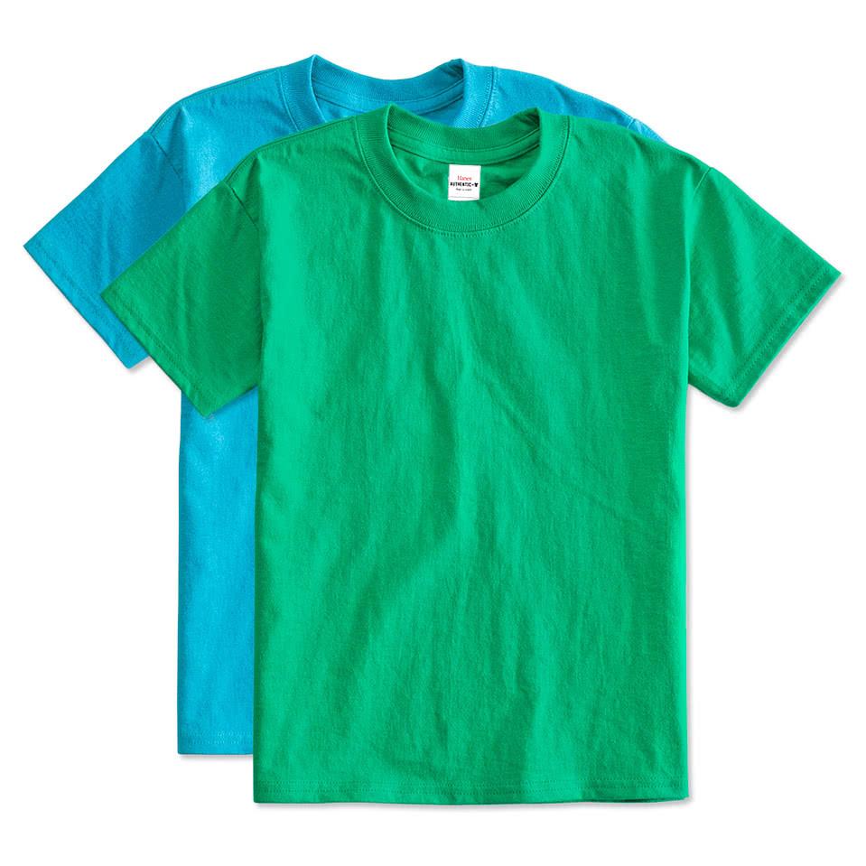 Hanes Shirt Hanes Youth Tagless T-shirt