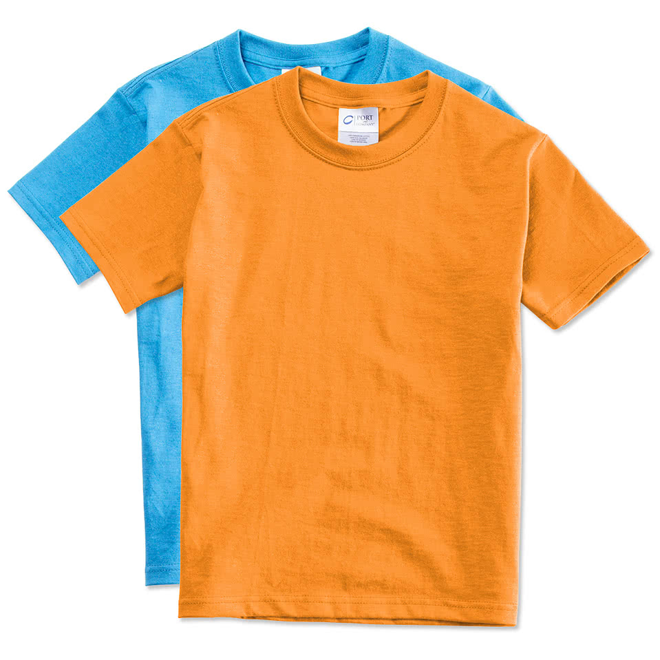 Port and Company Youth 100% Cotton T-shirt