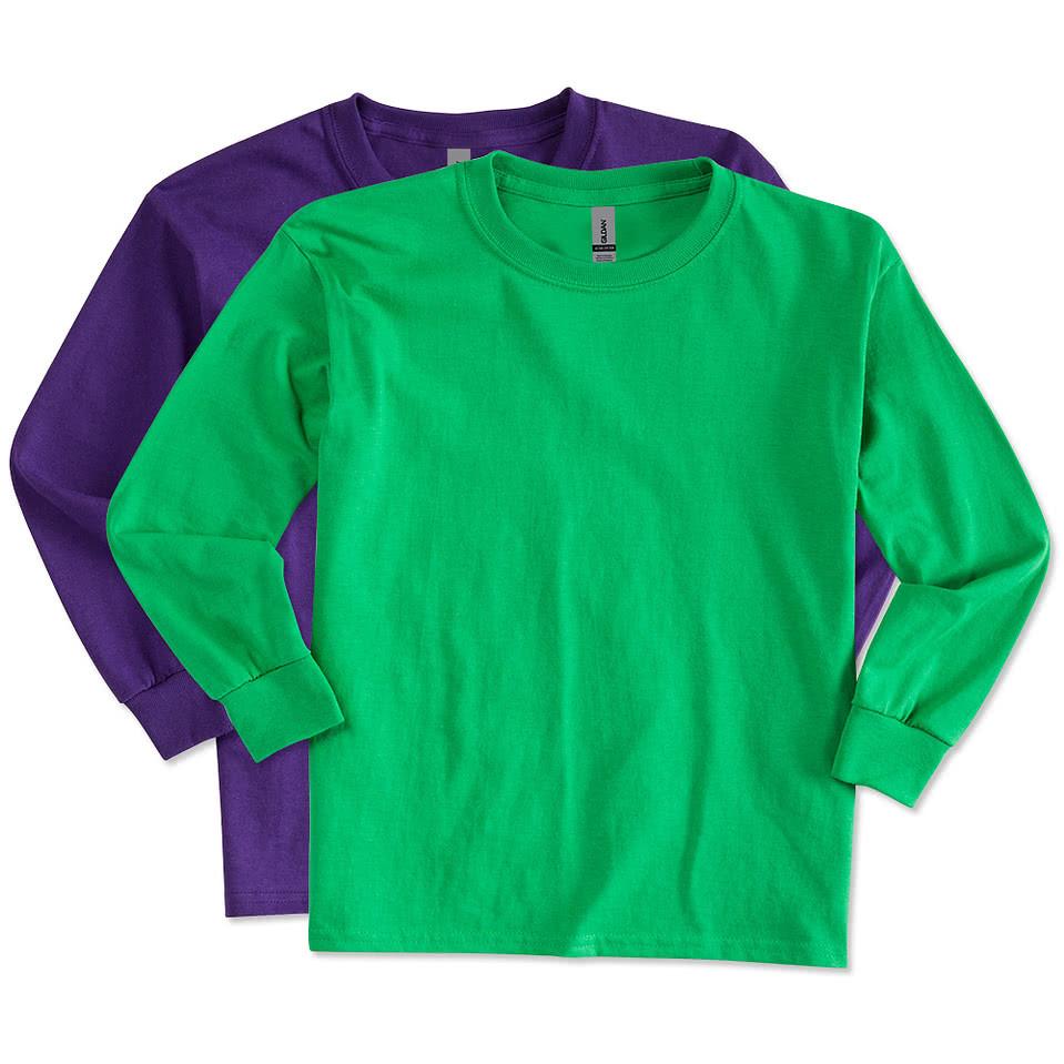 Gildan Ultra Cotton Long Sleeve T-shirt Gildan Youth Ultra Cotton Long
