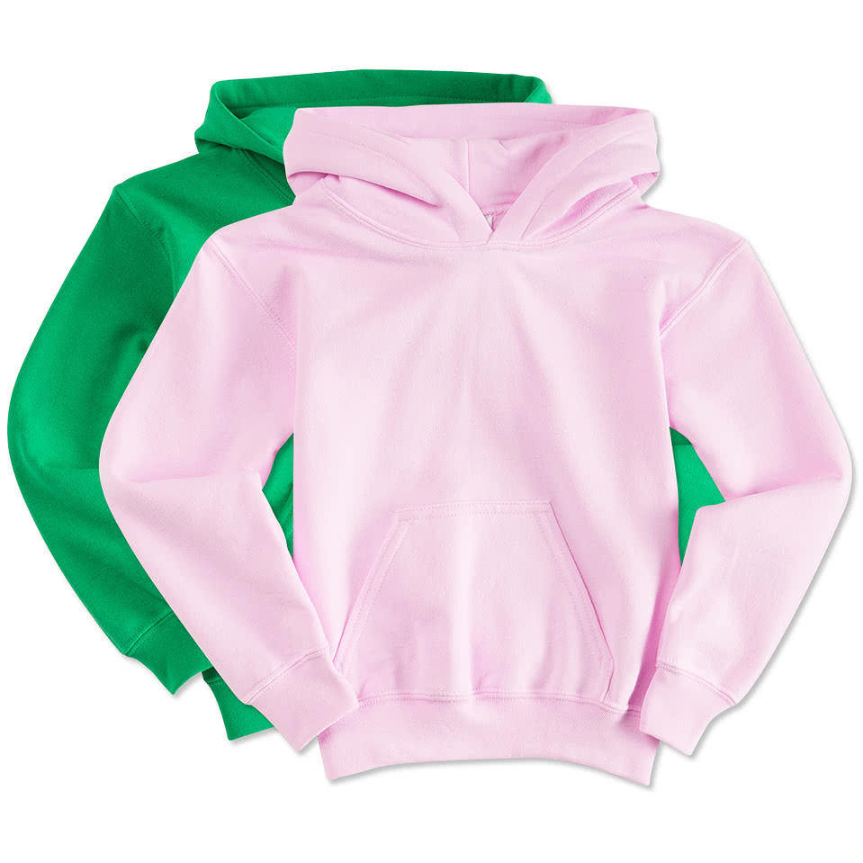Gildan Youth Midweight 50/50 Hooded Sweatshirt