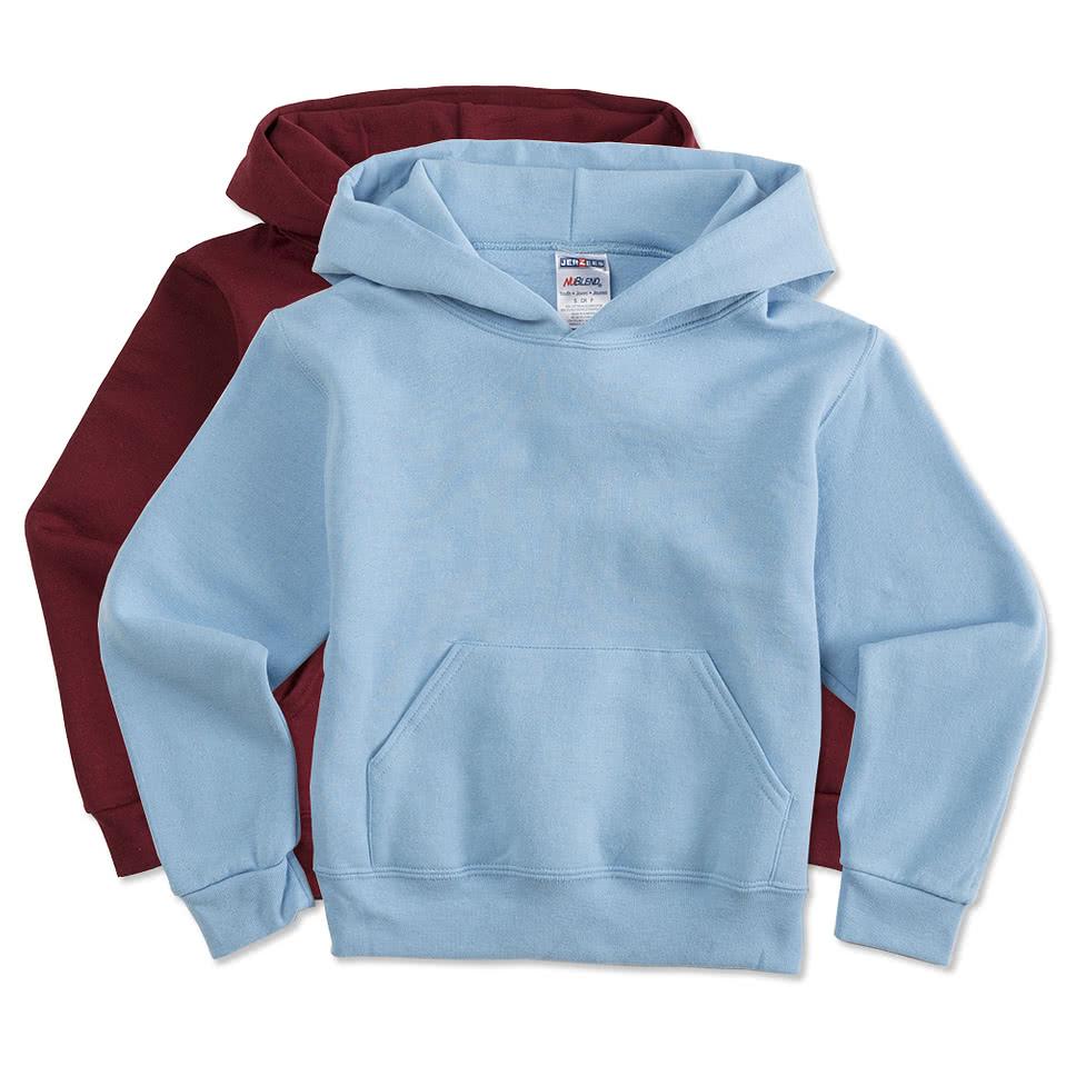 Jerzees Youth Nublend® 50/50 Hooded Sweatshirt