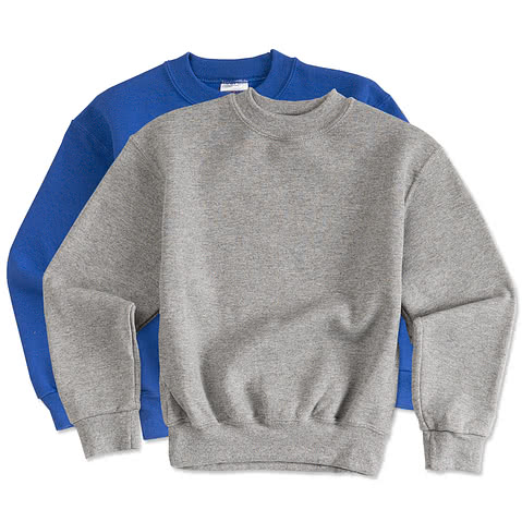 Jerzees Youth Super Sweats® 50/50 Crewneck Sweatshirt