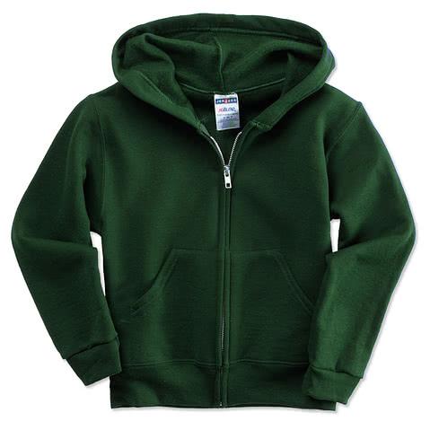 Jerzees Youth Nublend® 50/50 Zip Hoodie