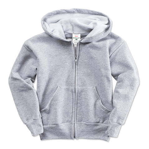 Hanes Youth Ultimate Heavyweight Zip Hoodie