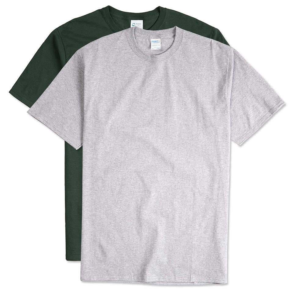 Port and Company 100% Cotton Tall T-shirt