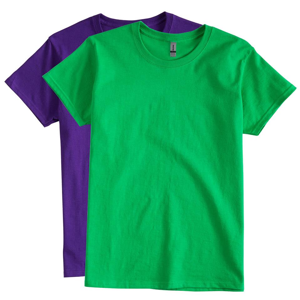 Design custom printed gildan ultra cotton ladies t shirts for Custom t shirts canada no minimum