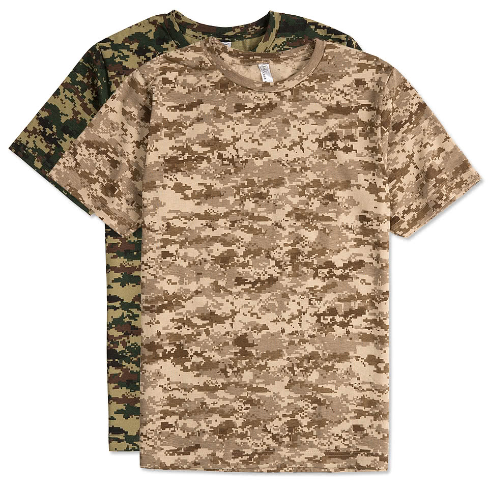 Code 5 Digital Camo T-shirt