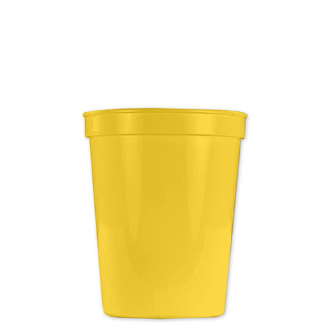 Small Plastic Stadium Cup