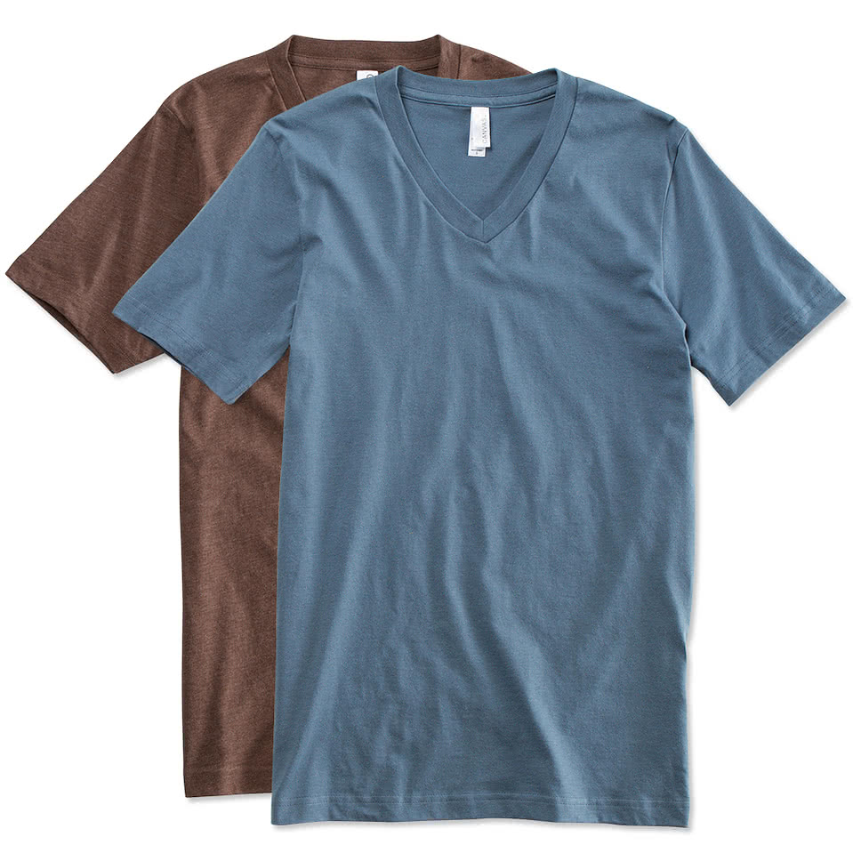 V-Neck T-Shirts – Design Your Own Custom V-Neck T-Shirts Online