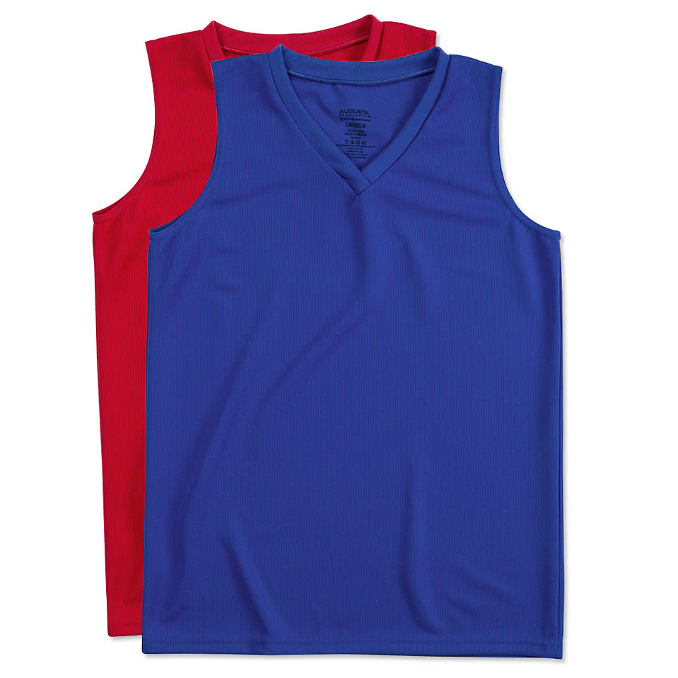 Augusta Ladies Performance Sleeveless Shirt