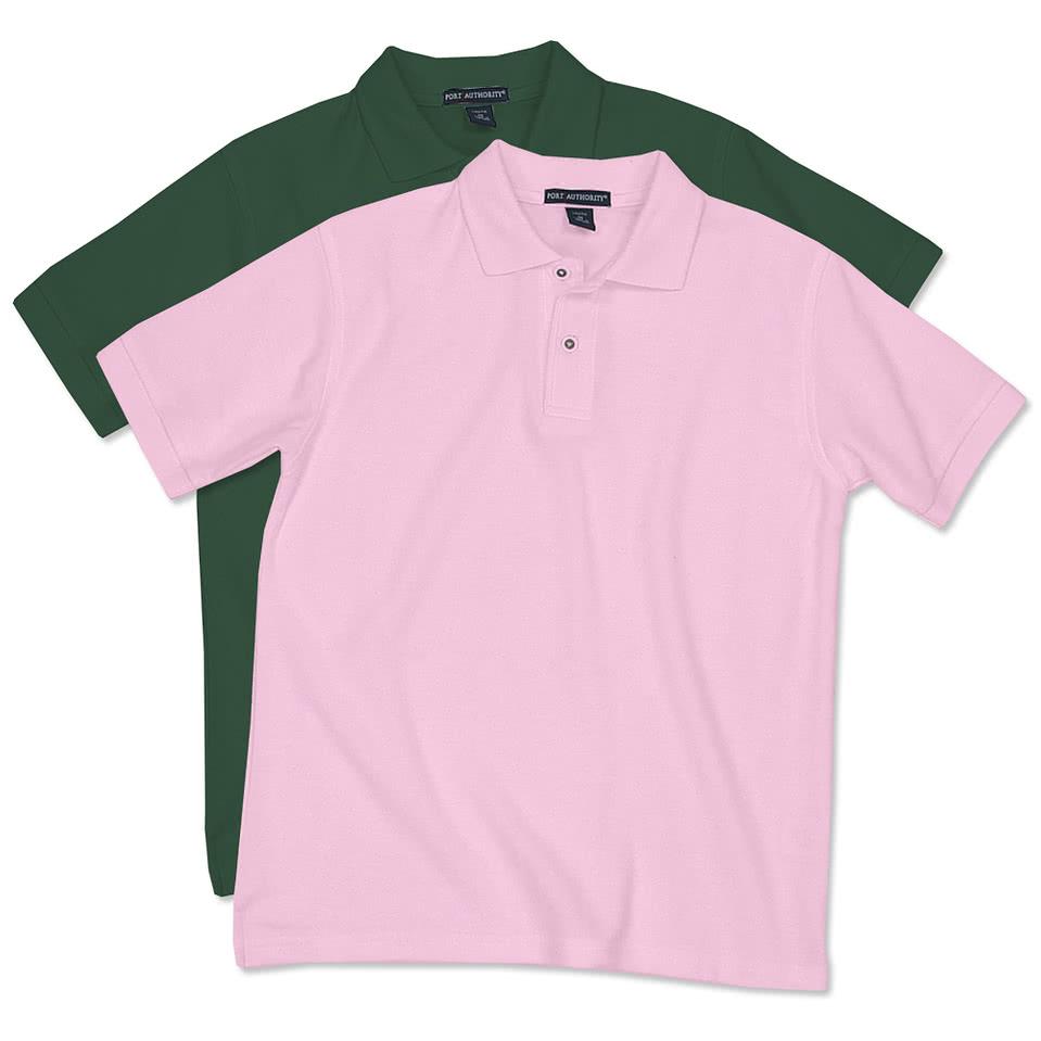 Port Authority Embroidered Polo Shirts | RLDM