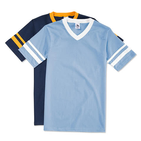 Augusta Double Sleeve Stripe Jersey T-shirt