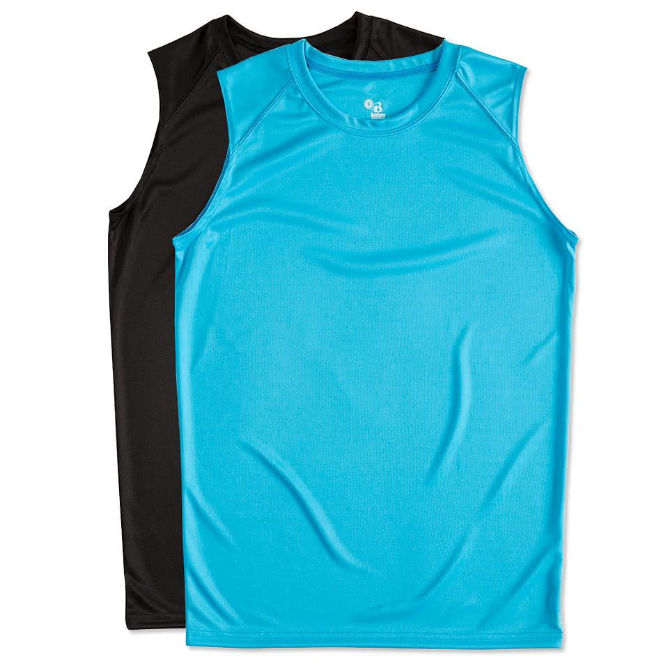 Custom Badger B Dry Sleeveless Performance Shirt Design