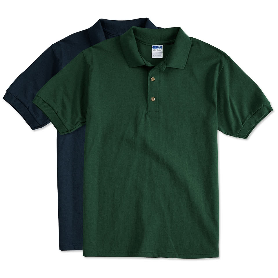 Custom canada gildan ultra cotton polo design polos for Custom t shirts canada no minimum