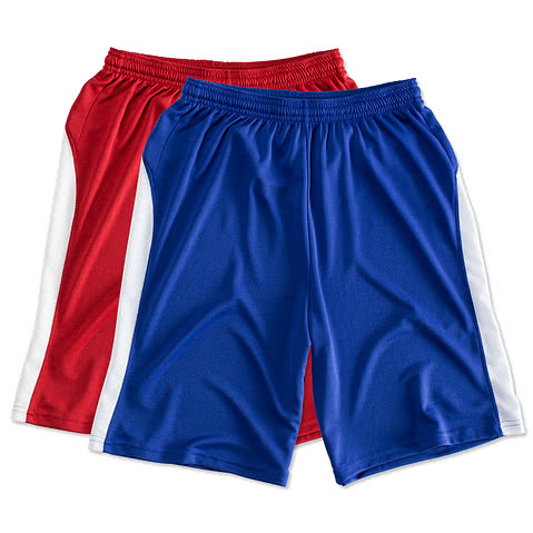 Sport-Tek Colorblock Performance Shorts