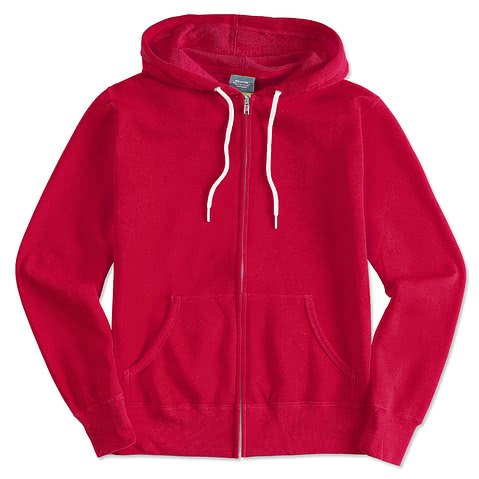 Independent Trading Lightweight Zip Hoodie