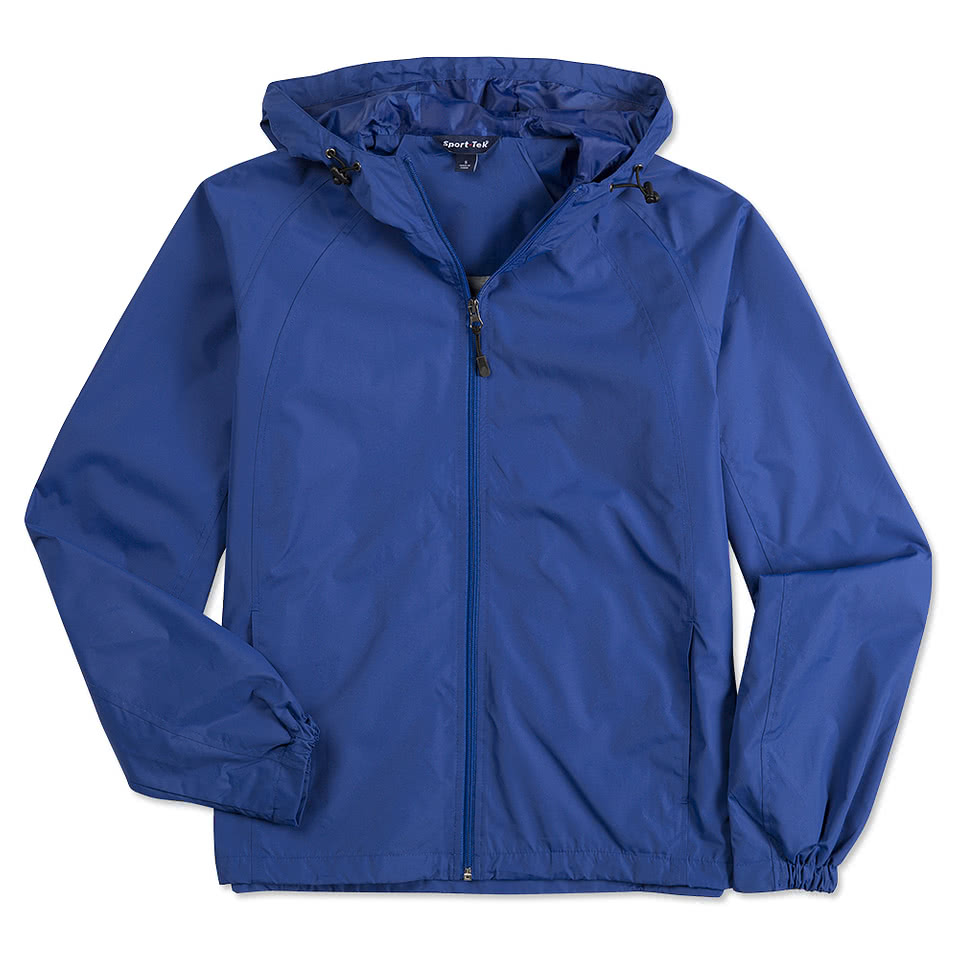 Custom Sport-Tek Full-Zip Hooded Jacket - Design Windbreakers