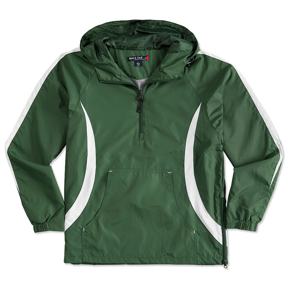 Custom Sport-Tek Colorblock Anorak - Design Athletic Jackets ...