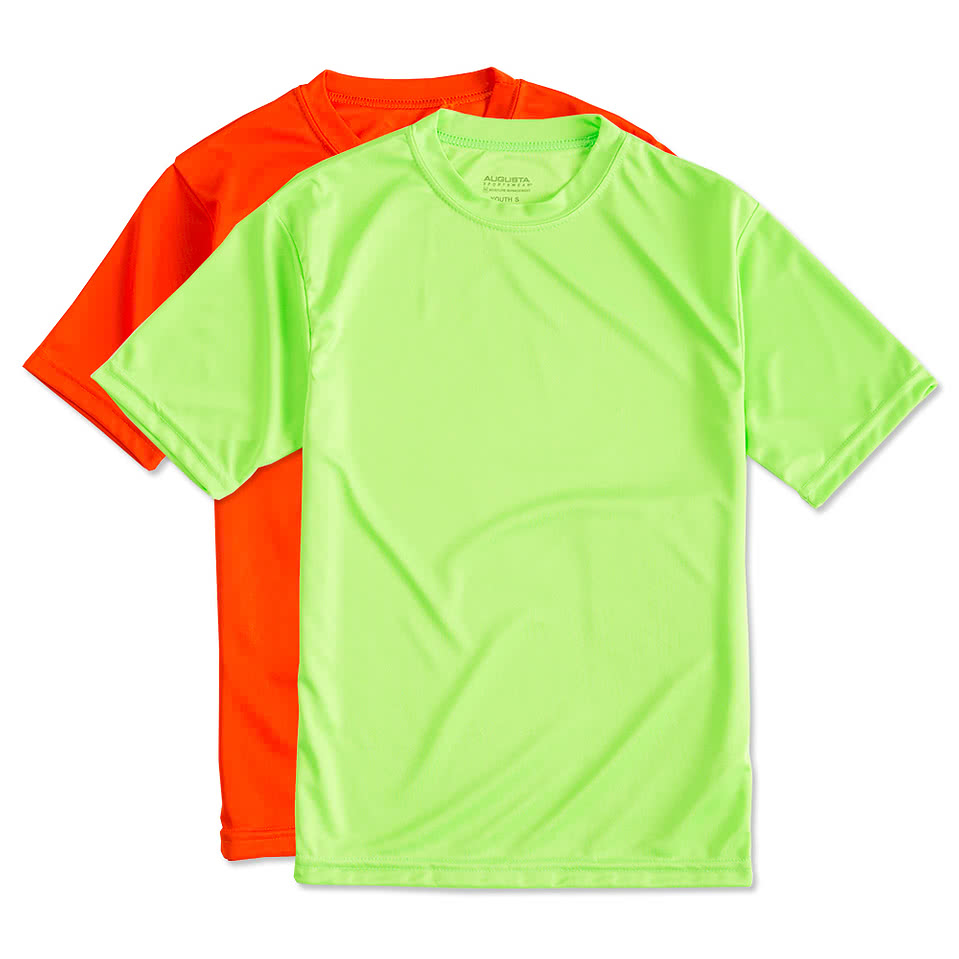 Augusta Youth Short Sleeve Performance Shirt