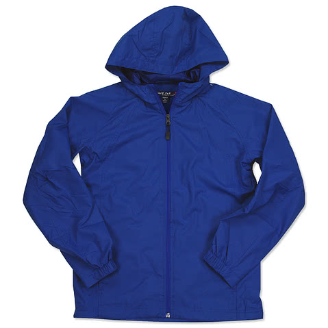 Sport-Tek Youth Full-Zip Hooded Jacket