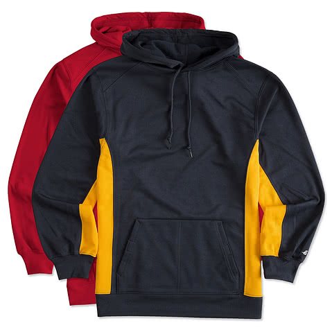 Badger Performance Hooded Sweatshirt