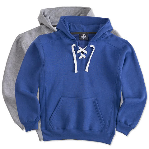 J. America Hockey Hooded Sweatshirt