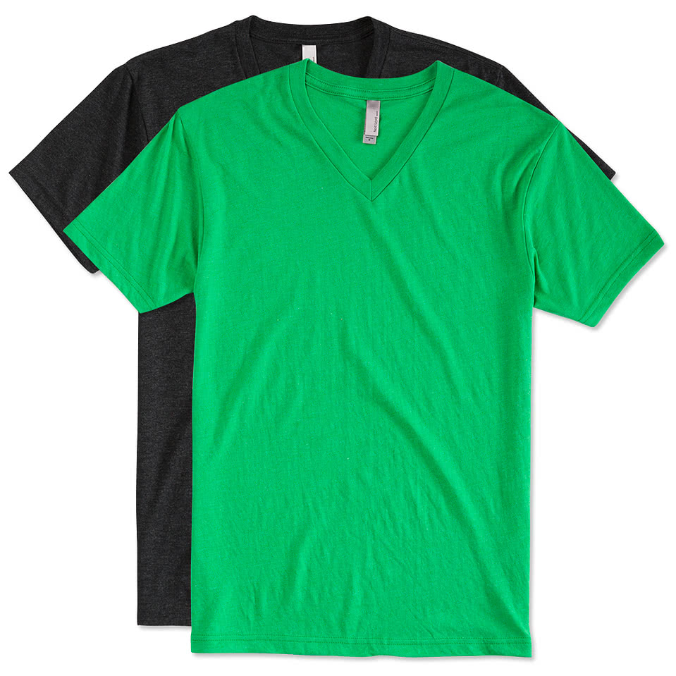 Next Level Tri-Blend V-Neck T-shirt