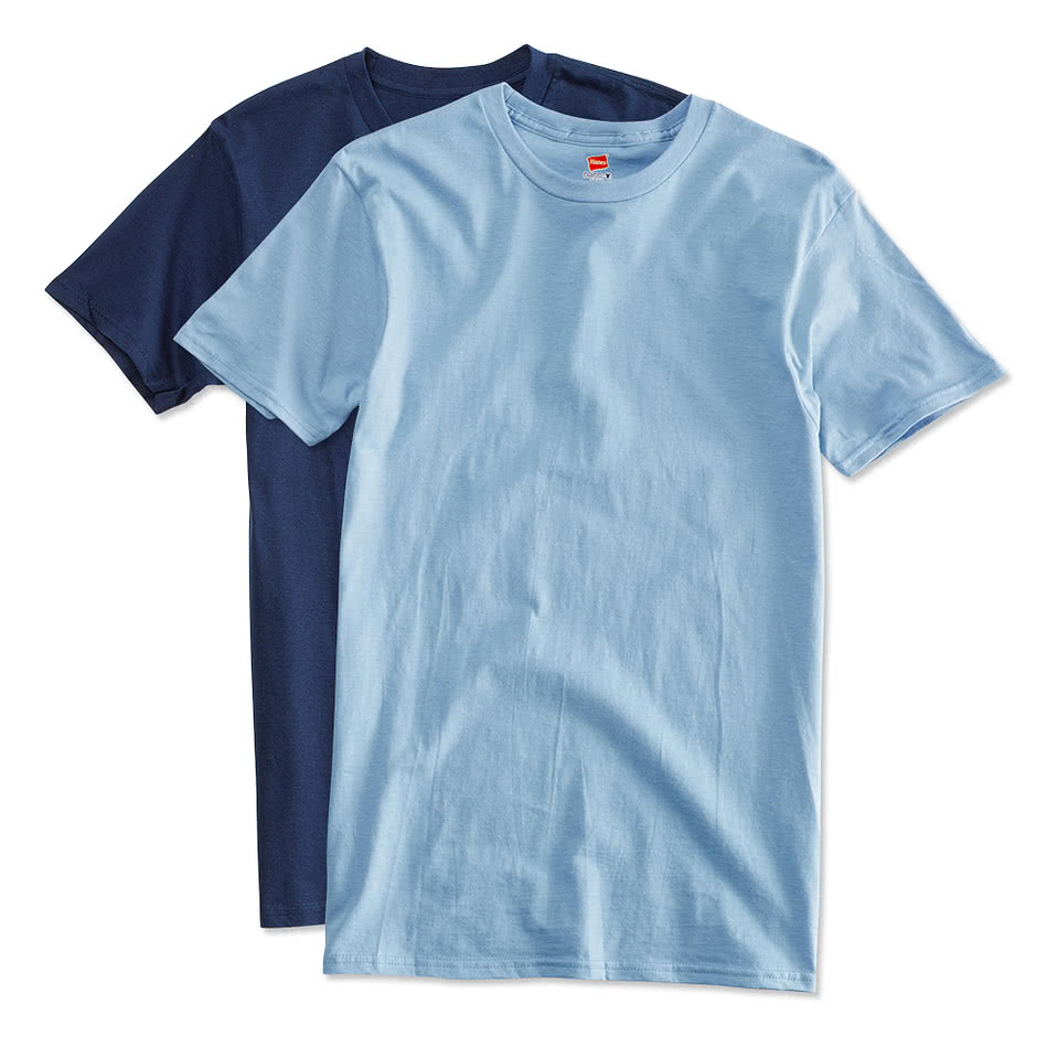 Custom hanes nano t design short sleeve t shirts online for Customize your t shirt online