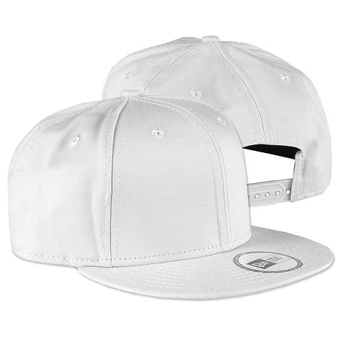 New Era Flat Bill Snapback Hat