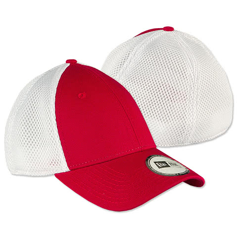New Era Stretch Fit Mesh Hat