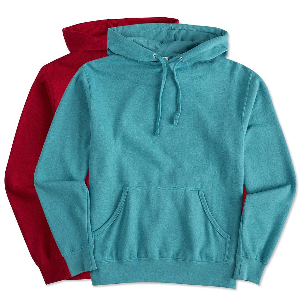 Independent Trading Lightweight Hooded Sweatshirt