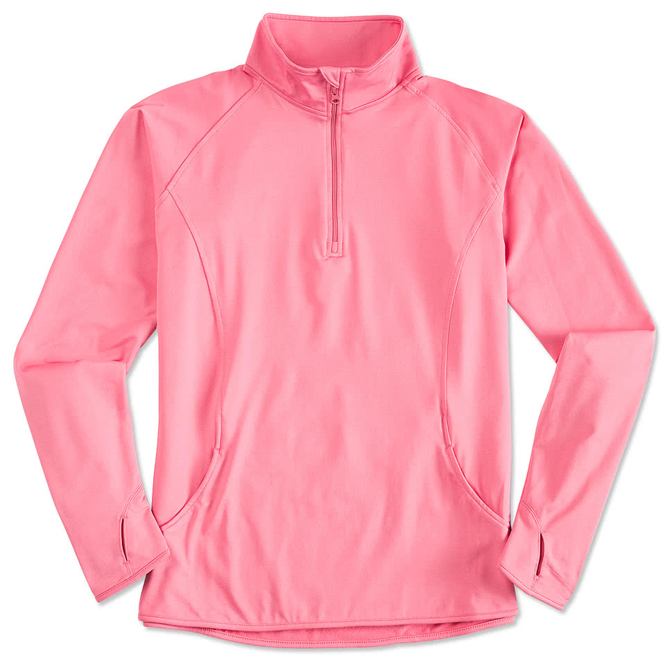 Sport-Tek Ladies Performance Half-Zip Pullover