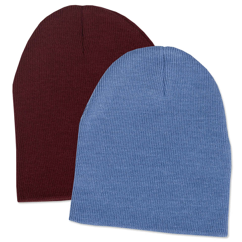 Yupoong Solid Knit Beanie