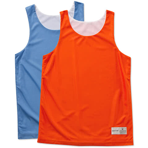 Sport-Tek Youth Micro-Mesh Reversible Tank
