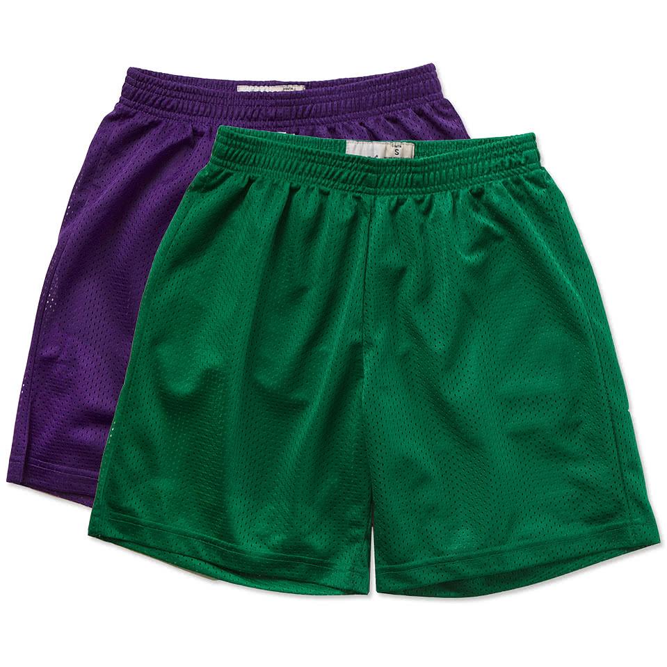 Sport-Tek Youth Mesh Shorts