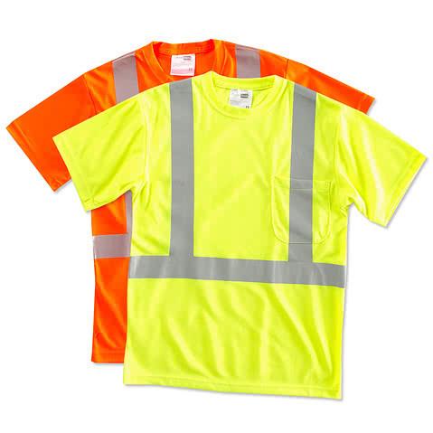 CornerStone Class 2 Performance Safety Pocket Shirt