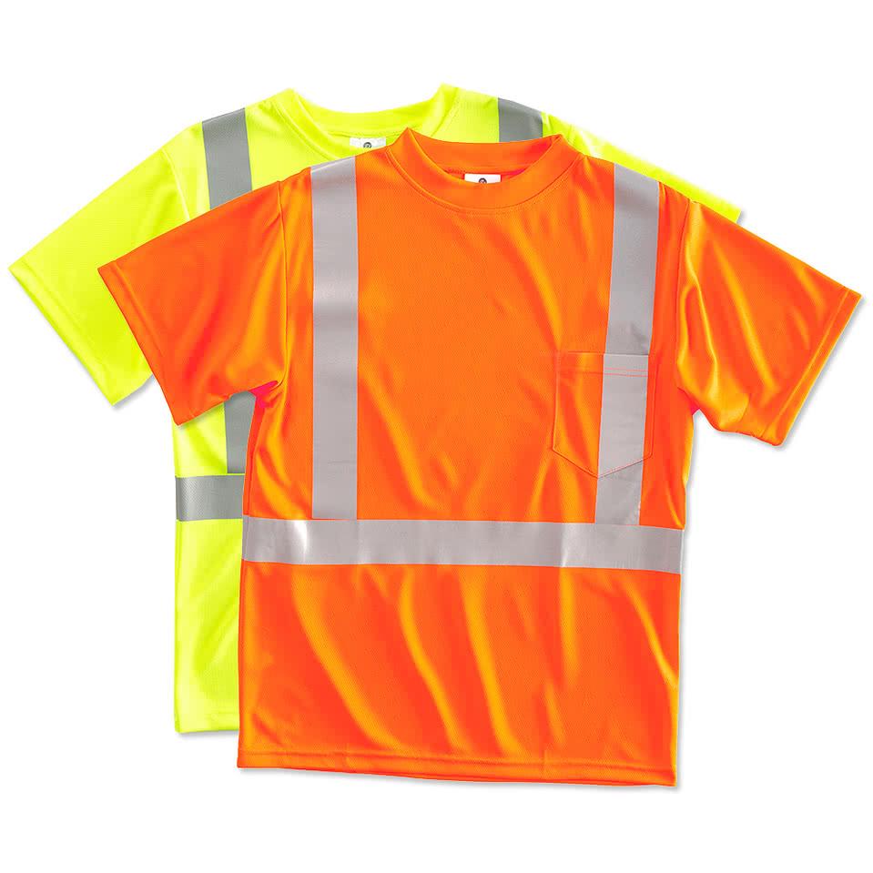 Design your own t-shirt international shipping - Ml Kishigo Performance Safety Shirt