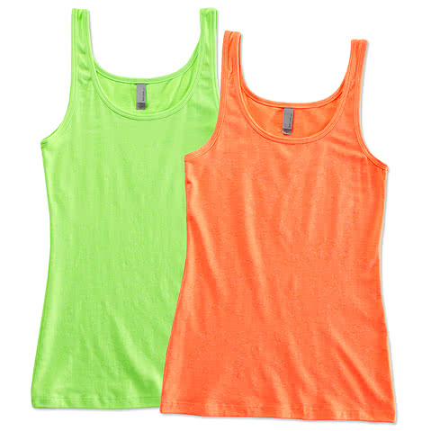 Next Level Juniors Neon Jersey Tank
