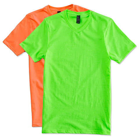 District Neon V-Neck T-shirt