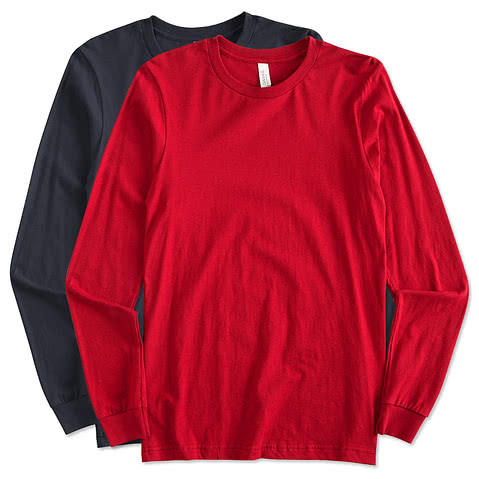 Canada - Canvas Long Sleeve Jersey T-shirt