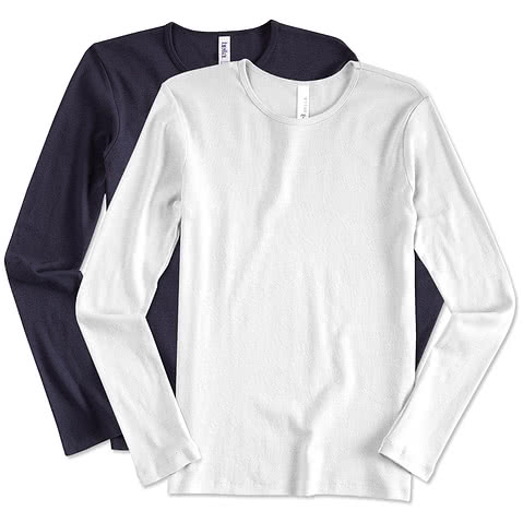 Canada - Bella Juniors Long Sleeve Crew